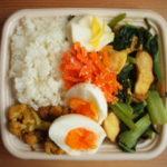 小松菜と鶏肉炒めもりもり弁