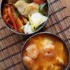 シンプル天津飯弁当