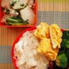 鯛飯とカブと生ハムのマリネ弁当