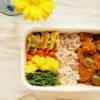 野菜と豆の炒めカレー弁当