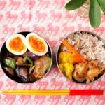 野菜と豚肉の甘酢炒め弁当