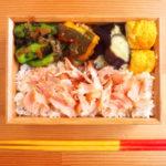 焼き鮭ほぐし弁当