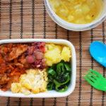 韓国風豚丼弁当