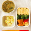 だし巻き玉子と素朴野菜おかず弁当