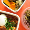 麻婆豆腐と半熟ゆでたまご弁当
