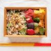 鯵の干物のっけ寿司弁当