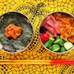 豚キムチ海苔弁当