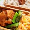 ポテサラとカレー鶏弁当