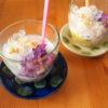 緑豆と紫芋のチェー