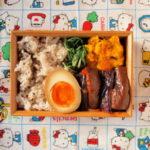 茄子と豚肉のトマト煮弁当