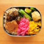 玄米と常備菜弁当