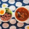きのうと今日のインドネシア風カレー弁当