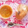 カプレーゼサンドとダルスープ弁当