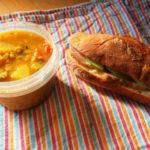 続・サンバルスープとサンドイッチ弁当
