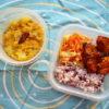 ムングダルと大根のカレー弁当