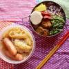 キャベツと長葱とウインナーの味噌バタ煮込み弁当