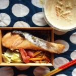 豆乳と生姜の味噌汁弁当