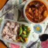 野菜カレー弁当