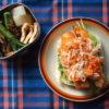 鮭サンドと和おかず弁当/エンパイアステートビル