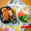 素麺でフォー・ガー弁当