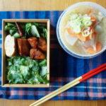 豚汁&三つ葉ごはん弁当