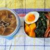 3色丼的弁当