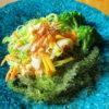 空芯菜サラダ弁当