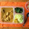 鶏胸肉カレー定食