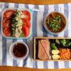 焼茄子のサラダ、野菜おかず