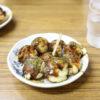 揚げ茄子舞茸おろし半田素麺弁当