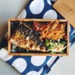 焼き塩鯖弁当