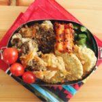 もずくの天ぷら丼弁当