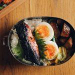 鮭の西京焼き弁当(夫)