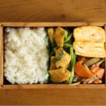 鶏肉と小松菜のスパイス炒め弁当