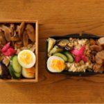 鶏とごぼうの煮物弁当