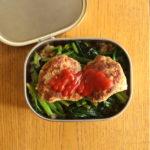 ハンバーグ丼弁当VSエビフライ定食