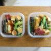 ぽってり揚げと小松菜の生姜醤油炒め弁当