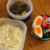 茄子ぶっかけ素麺弁当