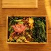 小松菜レタキム炒飯弁当