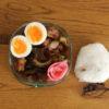 ゴーヤーときくらげの酢豚弁当