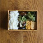 茄子と豚肉の生姜焼き弁当