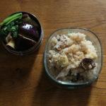 栗とポルチーニ茸のチーズリゾット弁当