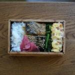 鯖の照焼弁当