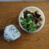 きのこと白菜漬け鍋弁当