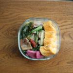酸菜塩豚炒め弁当