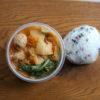 ピリ辛鶏団子鍋弁当
