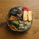茄子と豚肉のおろし煮弁当