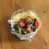 トマト豚肉ほうれん草飯弁当