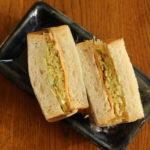 春キャベツのコールスローサンドイッチ弁当