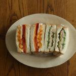 2色サンドイッチ弁当